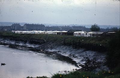 P02744; View of Thomson Caravans at Carronshore