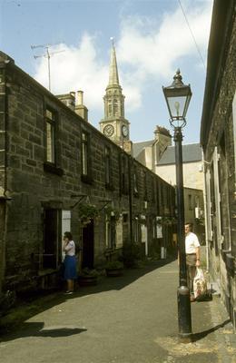 P53919; Kings Court & Steeple, Falkirk