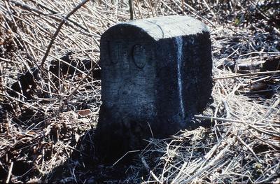 P01093; Boundary stone, Union Canal
