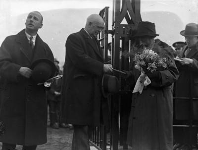 P56680; Opening of MacLaren Children's Park, Stenhousemuir