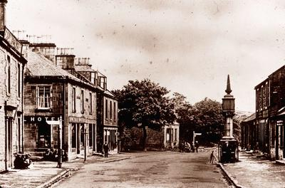 P02322; High Street and Main Street, Slamannan.