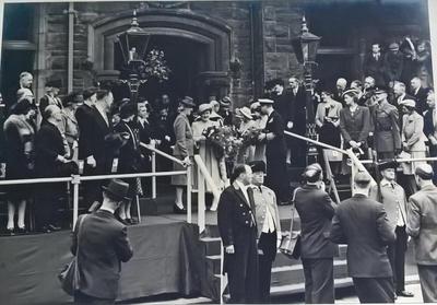 P42814; Royal Visit to Falkirk