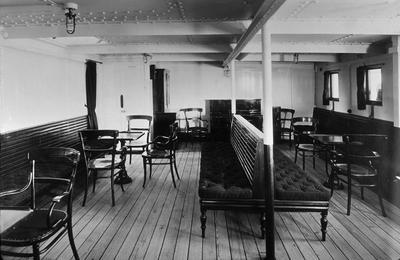 P01983; Third class music room of SS Osterley