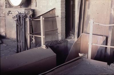 P01345; Loading mechanism for the cupola, Cockburn Works, Falkirk