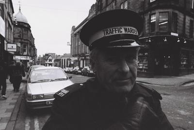 P57331; Traffic Warden in Falkirk