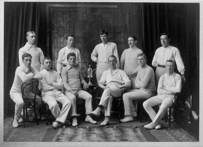 """P17059; """"Camelon Cricket Club Season 1911 Winners of Falkirk and District Cup"""""""