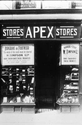 P00373; Apex stores shop frontage, Kirk Wynd, Falkirk