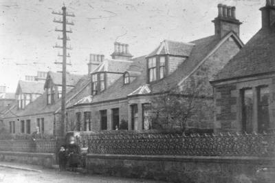 P00068; Houses on High St, Bonnybridge