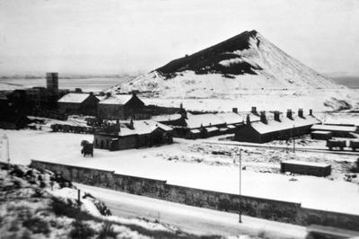 P12484; Kinneil Colliery in the snow