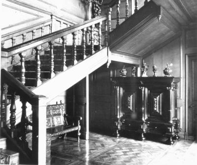 P19631; Callendar House Cromwell staircase
