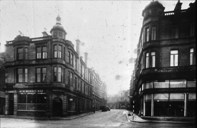 P00225; View of Lint Riggs from Newmarket St.