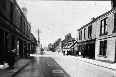 P00226; View of King St, Larbert