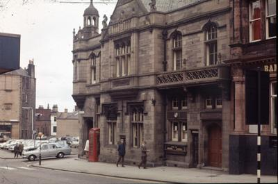 P21764; Old post office, Vicar Street, Falkirk
