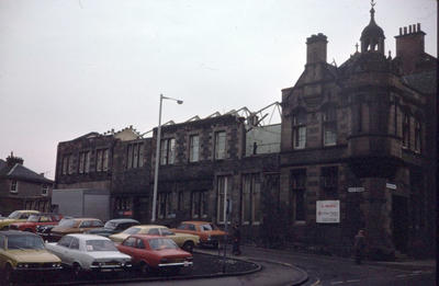 P21766; Corner of Weir St and Vicar St, Falkirk