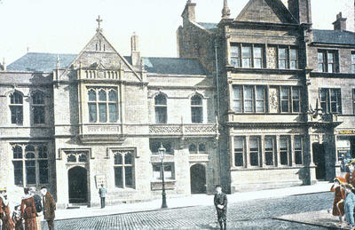 """P07018; """"Post Office and B.L.Co Bank, Falkirk"""""""