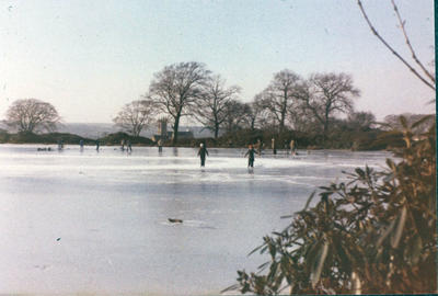 P27575; Curling at Larbert House Pond