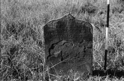 P05509; Gravestone of Hugh Fleming & Janet Grant, Corbiehall Cemetery, Bo'ness.