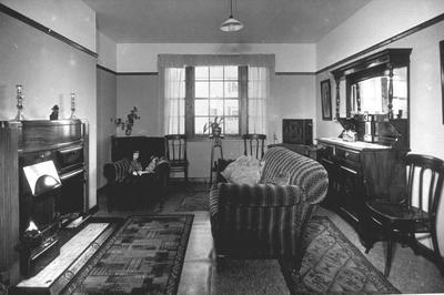 """P24936; """"Living room , 3 apartment house, Westquarter"""""""
