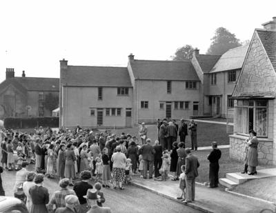 P24762; Opening of new Council housing in Airth