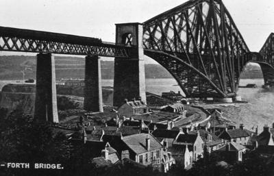 P05909; Forth Rail Bridge, North Queensferry