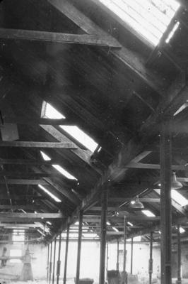P07724; Moulding workshop at Caledonia Works, Bonnybridge