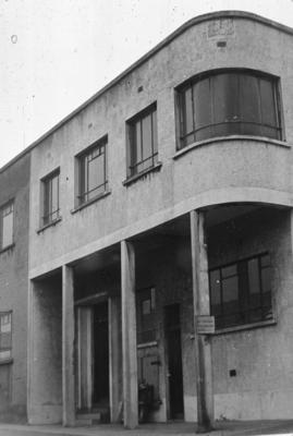 P07725; Office at Caledonia Works, Bonnybridge