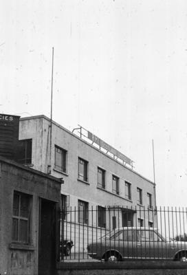P07726; Office at Caledonia Works, Bonnybridge