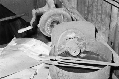 P07827; Blacksmith's forge at Dundas Engineering Company, Grangemouth