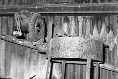 P07833; Blacksmith's forge at Dundas Engineering Company, Grangemouth