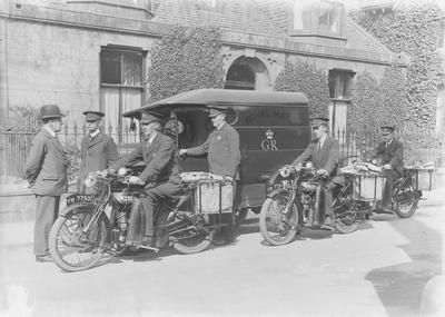 P33085; A group of postmen