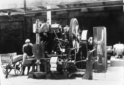 P02802; Brickmaking machine, Bonnybridge