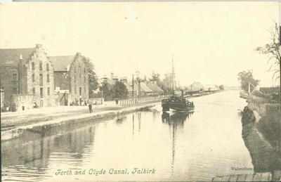 """P33720; """"Forth And Clyde Canal, Falkirk"""""""