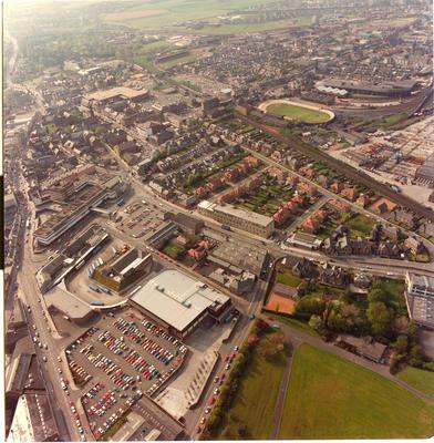 P31254; Aerial view of Falkirk
