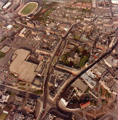 P31259; Aerial view of Falkirk