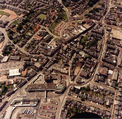 P31260; Aerial view of Falkirk