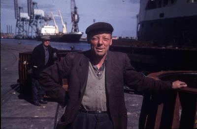 "P35897; ""Grangemouth Dockers. 7.69"""
