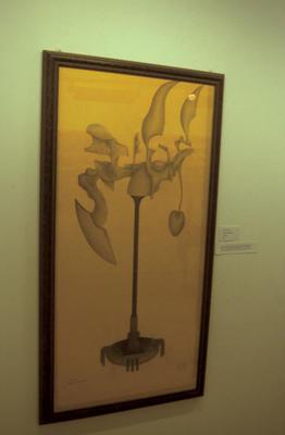 P36023; Art exhibit in the Park Gallery.