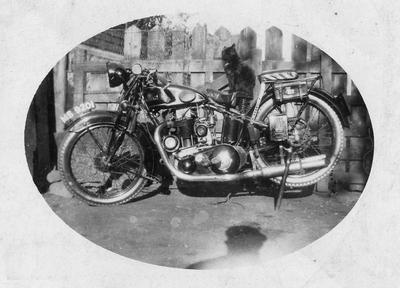 P36297; Motorcycle
