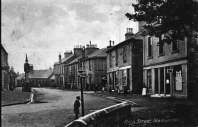 P15526; High St, Slamannan