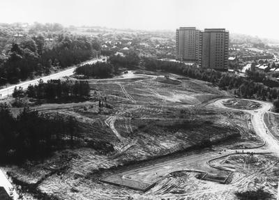 "P27293; ""Site Progress, Callendar Estate walk-ups"""