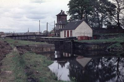 P01222; Lock 9, Forth and Clyde Canal, Camelon, Falkirk