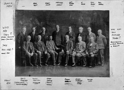 P17116; Denny and Dunipace Burgh councillors and officials