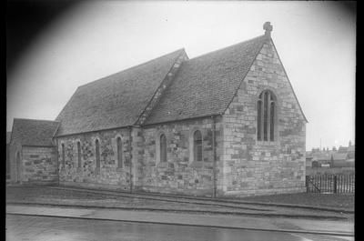 P37708; Exterior view of St Mary's Episcopal Church, Grangemouth