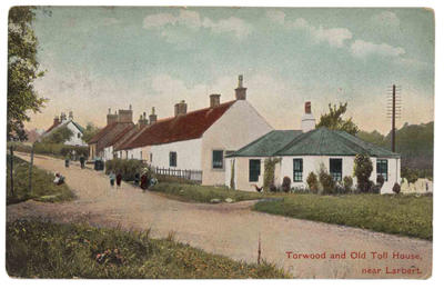 P34358; Torwood and Old Toll House, Larbert