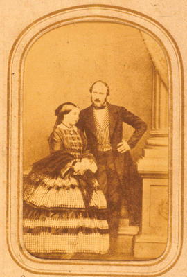P13525; Queen Victoria and Prince Albert