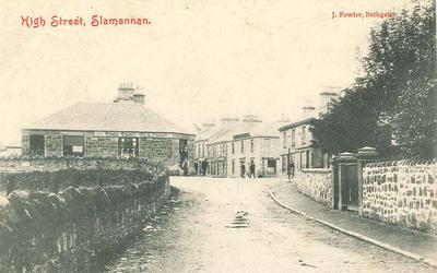 P34395; High Street, Slamannan