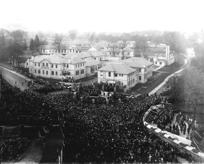 P32693; Opening of Falkirk Royal Infirmary.