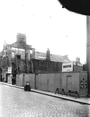 P32719; Demolition site, High Street, Falkirk