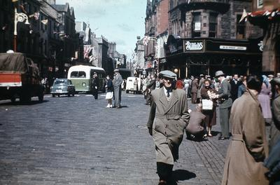 P01259; Falkirk High St, at top of Kirk Wynd