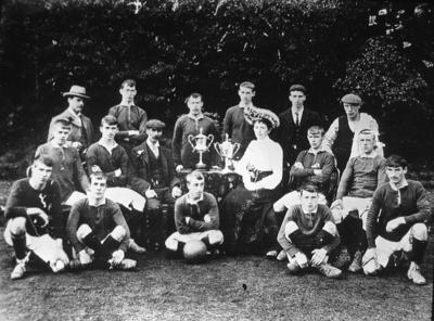 P01582; Camelon senior football team.